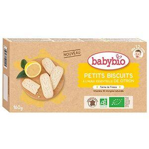 BabyBio Petits Biscuits Citron 160 g 12+ Mois BIO - Publicité