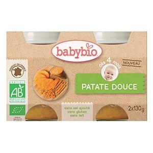 BabyBio Petit pot légumes patate douce bio 2x130g - Publicité