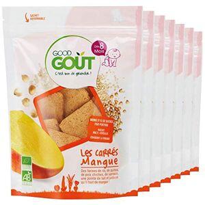 Good Got BIO Les Carrés Mangue 50 g Pack de 7 - Publicité
