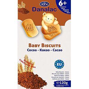 Danalac Biscuits Saveur de Cacao pour Bébés 6+ Mois 0.12 kg - Publicité