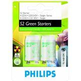 Philips Ampoule Tube Fluorescent Starter Culot S2 22 Watts