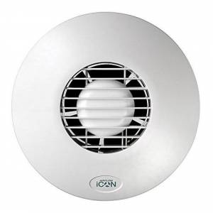 Airflow iCON60 Hotte circulaire aspirante pour grande salle de bain, buanderie et cuisine - Publicité