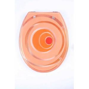 ADOB Miami 41388 rabat de WC Orange Transparent - Publicité