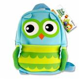 Premier Stationery Emotionery Neoprene Cute Animal Junior Backpack - Owl Sac à Dos Enfants 27 Centimeters 4 Multicolore (Blue)