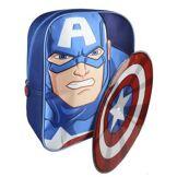 Cerdá Capitan America Sac à Dos Enfants, 31 cm, Bleu (Azul)