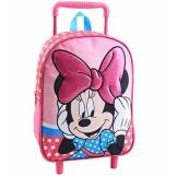 Jacob & Co. Disney Minnie Mouse Sac à Dos à roulettes Enfants, 34 cm, Pink