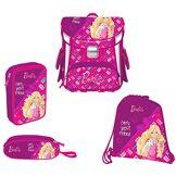 Target Square Set 4in1 Barbie BF Cartable, 38 cm, 12 liters, Rose (Rosa)