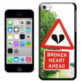 Fancy A Snuggle Watch Out. Broken Heart Ahead 'Snuggle Coque Rigide pour Apple iPhone 5C