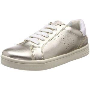 Geox J DJROCK Girl A, Sneakers Basses Garçon, Or (Lt Gold), 28 EU - Publicité