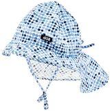 Döll Sonnenhut Mit Nackenschutz Bonnet, Bleu (Total Eclipse Blue 3000), 53 Fille