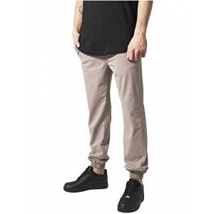 Urban Classics Stretch Twill Jogging Pants Pantalon, Beige (3), 30W (Taille Fabricant: Small) Homme