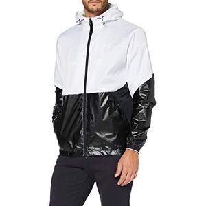 Under Armour Veste Recover Legacy Windbreaker T-Shirt de Sport Homme, White,White,Black (100), FR : S (Taille Fabricant : SM) - Publicité