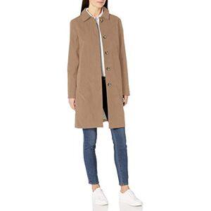 Amazon Essentials Col imperméable outerwear-jackets, Kaki, US L (EU L XL) - Publicité