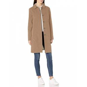 Amazon Essentials Col imperméable outerwear-jackets, kaki, US S (EU S-M) - Publicité