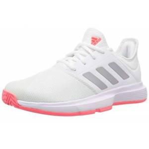 Adidas GameCourt W, Chaussures de Tennis Femme, FTW Bla/Plamet/Rossen, 42 EU - Publicité