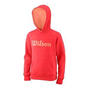 Wilson Y Script Cotton Po Hoody Sweatshirt  Capuche Mixte Enfant, Cayenne, S - Publicité