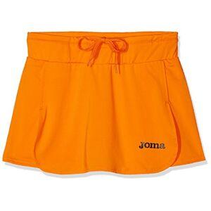 Joma Open Short de Tennis Femme, Orange (Fluo), M - Publicité