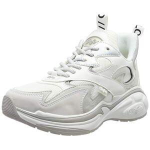 Buffalo CAI, Sneakers Basses Femme, Blanc (White 001), 37 EU - Publicité