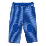 i play. Pantalon de Yoga en Coton Bio Royal Blue Rayure 3-6 Mois