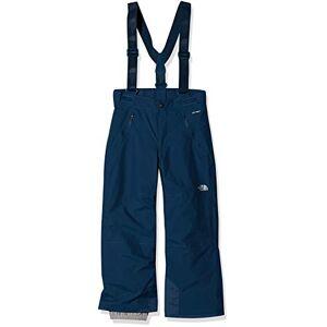 The North Face Youth Snowquest Pantalons Enfant Blue Wing Teal FR : L (Taille Fabricant : L) - Publicité