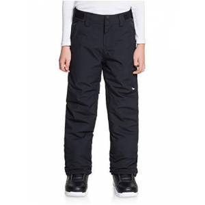 Quiksilver Estate-Pantalon de Snow/Ski pour Garon 8-16, True Black, FR : L (Taille Fabricant : L/14) - Publicité