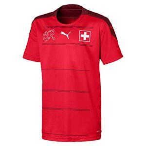 Puma Sfv Home Shirt Replica Jr Maillot Garon, Red-Pomegranate, 140 - Publicité