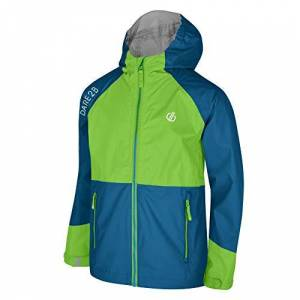Dare 2b Jacket Veste Technique Junior Affiliate Mixte Enfant, Jasmine/PtrB, FR : M (Taille Fabricant : 9-10) - Publicité