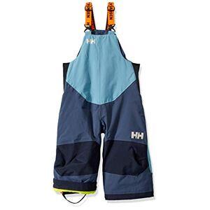 Helly Hansen K Rider 2 Isolée Bavoir Pantalon de Ski Mixte Enfant, North Sea Blue, FR : XXS (Taille Fabricant : 1 yrs) - Publicité