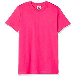 The North Face Y SS Simple Dome Tee Mixte Enfant, Cabaret Pink, FR (Taille Fabricant : XL) - Publicité