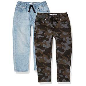 Spotted Zebra Lot de 2 Pantalons en Denim Extensible. Jeans, Camouflage/décoloration, EU 146-152 CM - Publicité