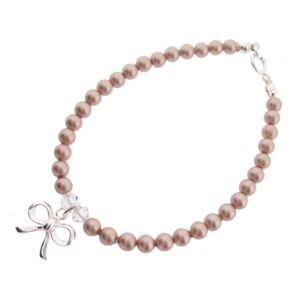 Chic A Boo  Bracelet Enfant Argent 925/1000 1.0 Gr Pearle/Cristal Swarovski Perle synthétique - Publicité