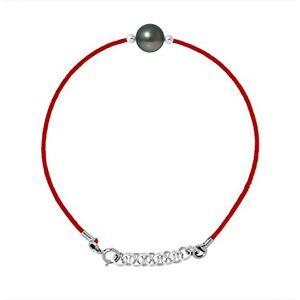 And You - & You And You & You Bracelet Cordon Argent 925 Access Perle Perle de Culture de Tahiti 18 cm - Publicité