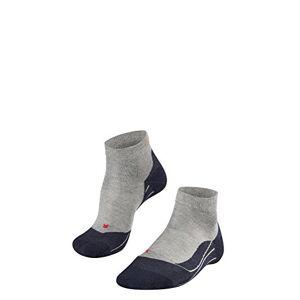 Falke RU4 Short W So Chaussettes de course Femme, Gris (Light Grey 3406), 35-36 (UK 2.5-3.5  US 5-6) - Publicité