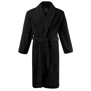 JP 1880 Homme Grandes Tailles Peignoir éponge col châle Tissu en Coton Noir 3XL 702388 10-3XL - Publicité