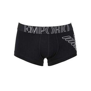 Emporio Armani Underwear 111866cc735, Boxer Homme, Noir (Nero 00020), Small - Publicité