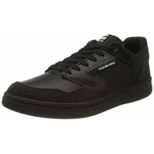 G-STAR RAW Mimemis Low, Sneakers Basses Homme, Noir (Black/Black C249-A567), 43 EU - Publicité