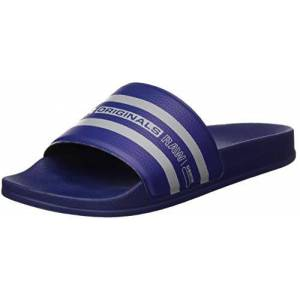 G-STAR RAW Cart Slide Iv, Tongs Homme, Multicolore (Imperial Blue/Slab Grey 3593-B384), 45 EU - Publicité