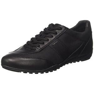 Geox U Wells A, Sneakers Basses Homme, Noir (Black), 42 EU - Publicité