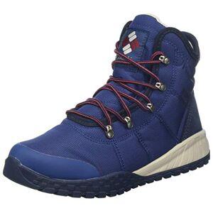 Columbia Fairbanks Omni-Heat, Bottes d'hiver Homme, Bleu (Carbon, Red Jas), 40.5 EU - Publicité