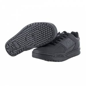 O'NEAL   Chaussures de vélo   VTT DH FR Downhill Freeride   Compatibles avec pédales SPD, matire Respirante, Dessus : PU Durable et léger   Chaussures Pinned SPD   Adulte   Noir   Taille 39 - Publicité
