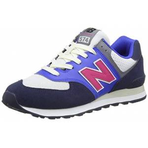 New Balance 574  Medium, Basket Homme, Blue (Navy MC2), 41.5 EU - Publicité