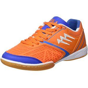 Agla  Chaussures de Futsal Indoor, Orange/Bleu, 27,5cm/43 - Publicité