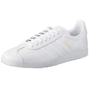 Adidas Gazelle, Baskets Homme, Footwear White/Footwear White/Gold Metallic, 36 2/3 EU - Publicité