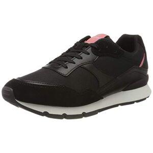 Esprit Blanchet Lu, Sneakers Basses Femme, Argenté (Black 001), 36 EU - Publicité