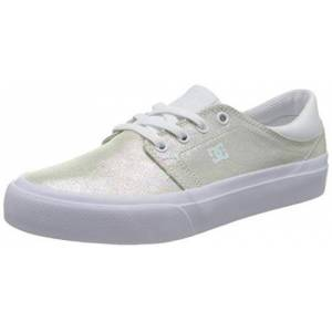 DCShoe Shoes Trase, Basket Femme, White/White, 38 EU - Publicité