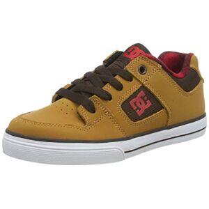 DCShoe Shoes (DCSHI) Pure Se-Shoes for Boys, Chaussures de Skateboard garçon, (Wheat), 35 EU - Publicité