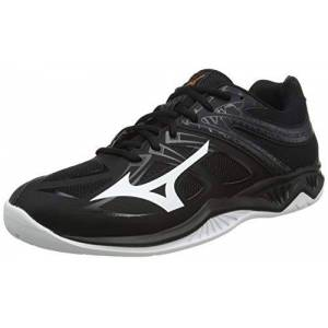 Mizuno Thunder Blade 2, Chaussure de Volleyball Mixte Adulte, Noir/Blanc/Ebne, 41 EU - Publicité