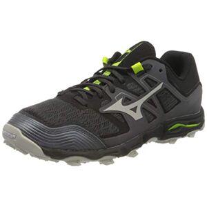 Mizuno Wave Hayate 6, Chaussure de Trail Mixte, Magnet/Moonstruck/Syello, 44 EU - Publicité