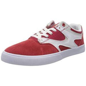 DCShoe Shoes Kalis Vulc Chaussures en Cuir Homme EU 40 Rouge - Publicité