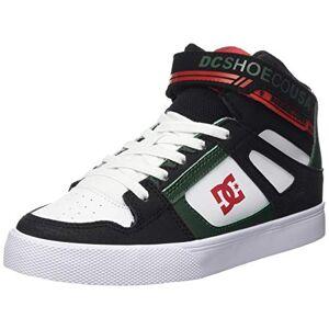 DCShoe Shoes Pure High-Top Ev, Chaussures de Skateboard garçon, Noir (Black/Green Bgn), 35 EU - Publicité